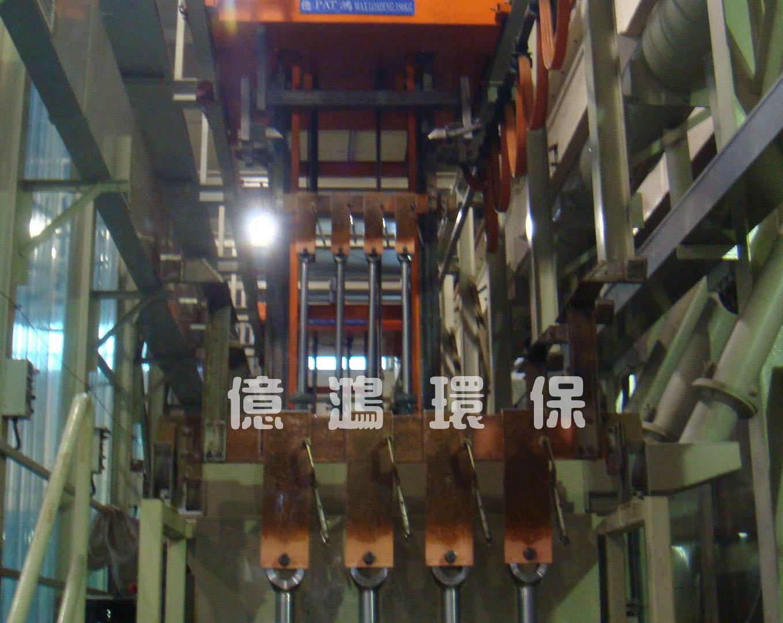 High Pressure Bottle Rack : Tianjinautomatic rack plating ni cr equipment for high